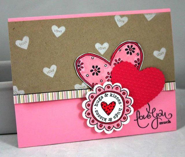 58 Romantic Valentines Days Card Ideas | Card ideas, Romantic and ...