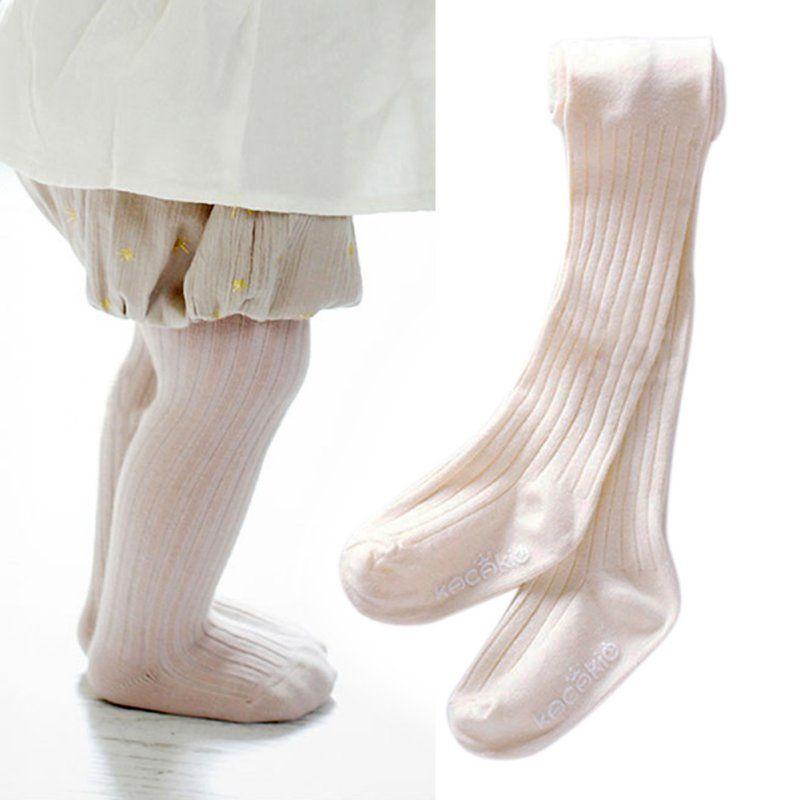 Toddler Infant Baby Girls Tights Thin Pantyhose Stockings Cotton Socks 3PCS