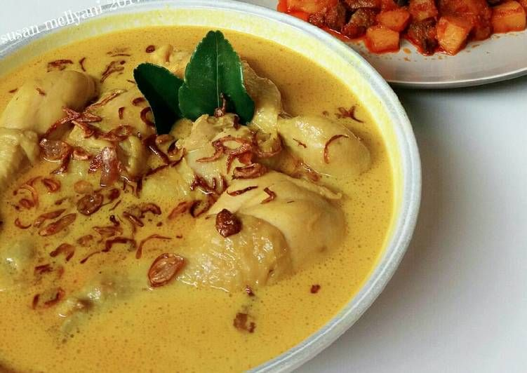 Resep Opor Ayam Oleh Susan Mellyani Resep Makanan Dan Minuman Resep Makanan Resep