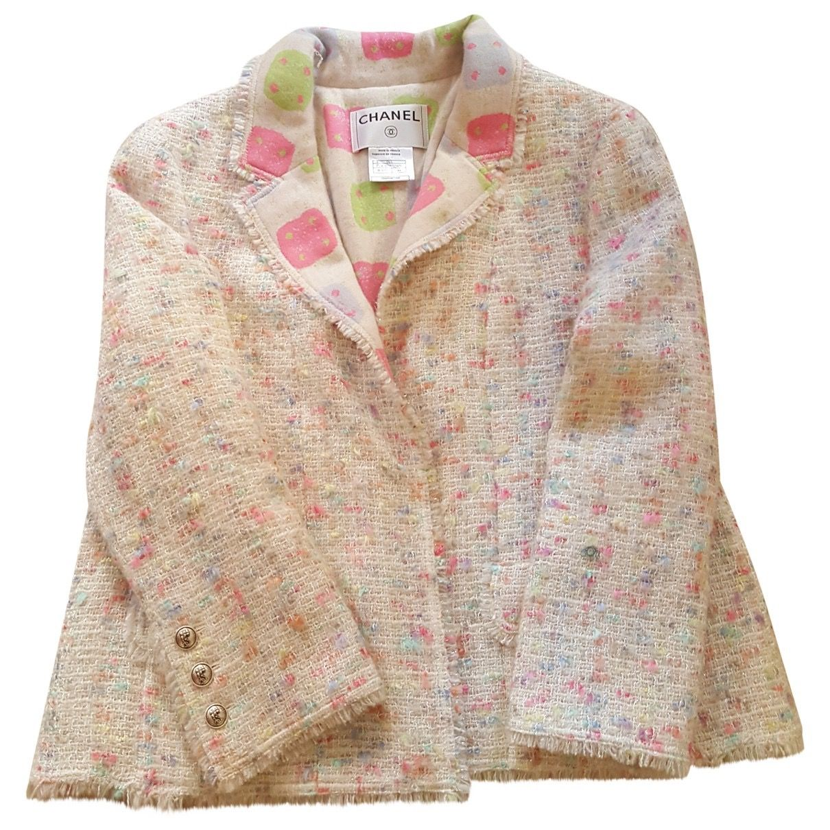 CHANEL Tweed suit jacket