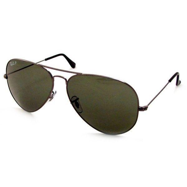 Ray-Ban Men\'s RB3025 Gun Pilot Polarized Sunglasses | Products ...