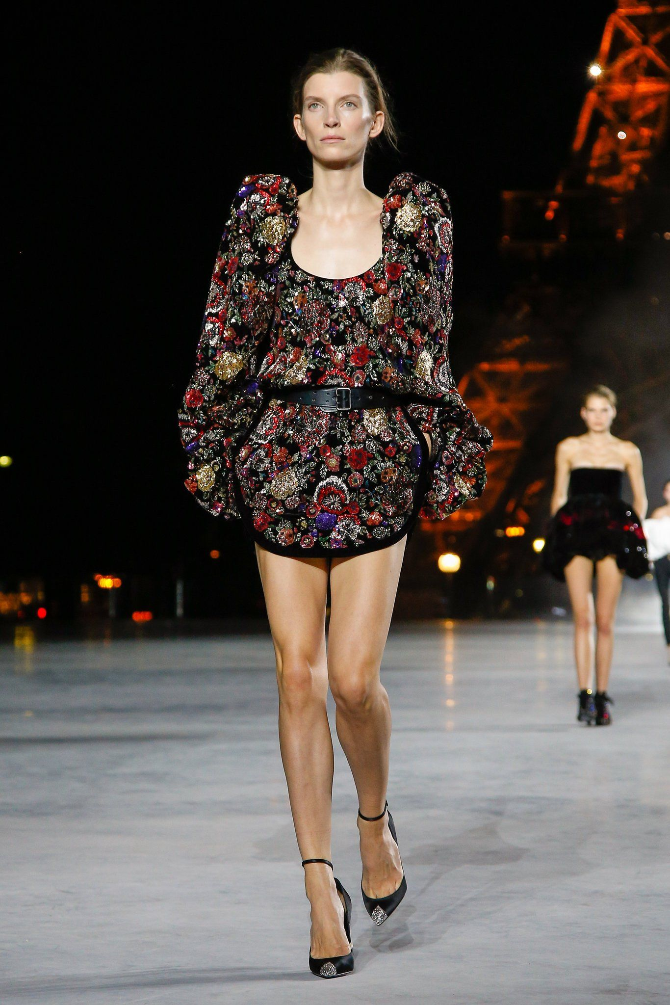 551a50c994a The label shows its spring looks. | YVES ST LAURENT | Spring summer ...