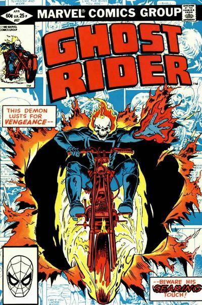 Ghost Rider Vol 2 67 By Bob Budiansky Joe Rubinstein Capas