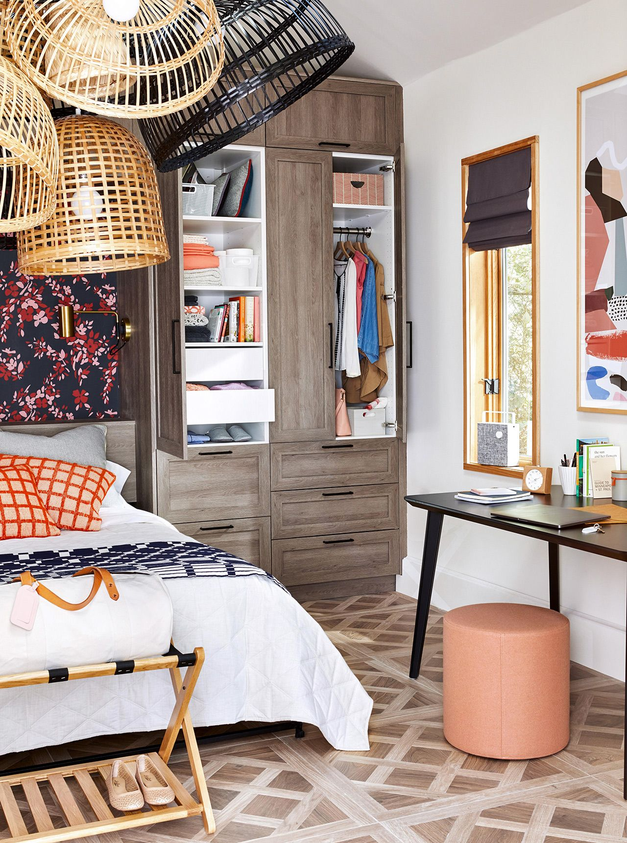 26 Clever Bedroom Storage Solutions for a More Organized Sleeping Space #storagesolutions