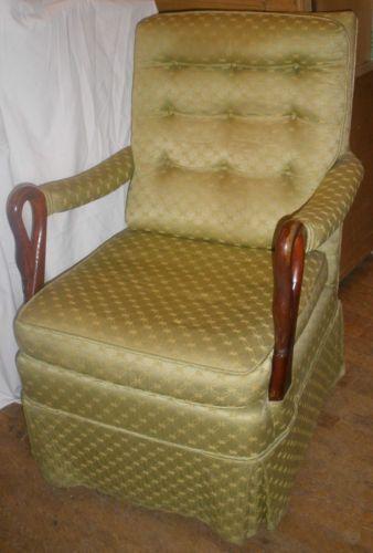 SOLD (pending pickup) Gooseneck Rocking Chair