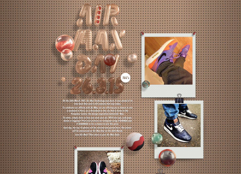 wholesale dealer f8ce1 5642e Celebrate Air Max Day with JD Sports UK and Win a trip to Paris!
