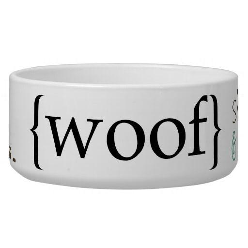 bf5a3834c600 Fun Sayings Dog Pet Bowl food or water | Zazzle.com | Dogs | Pet ...
