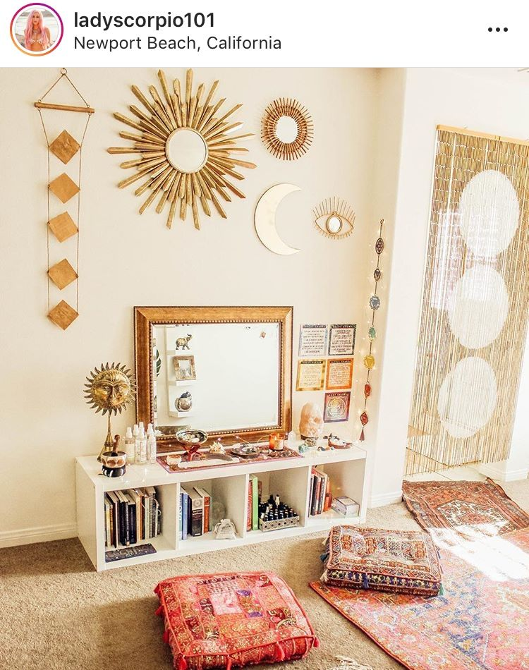 Meditation Yoga Space Corner Room Meditation Rooms Home Yoga