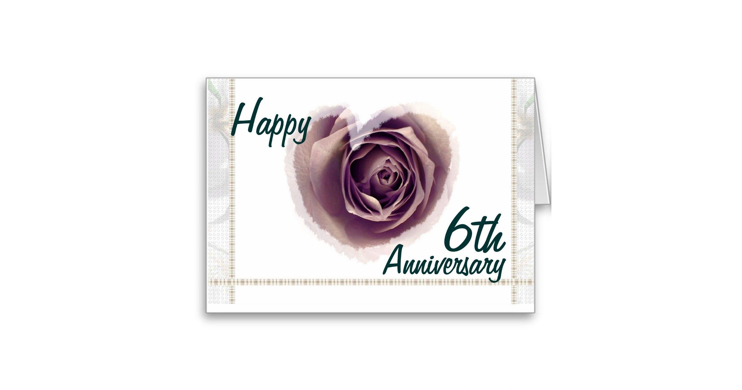 6th_wedding_anniversary_purple_rose_heart_card