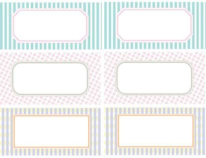 Free Printable Label Templates calling those striped tiffany - labels template free