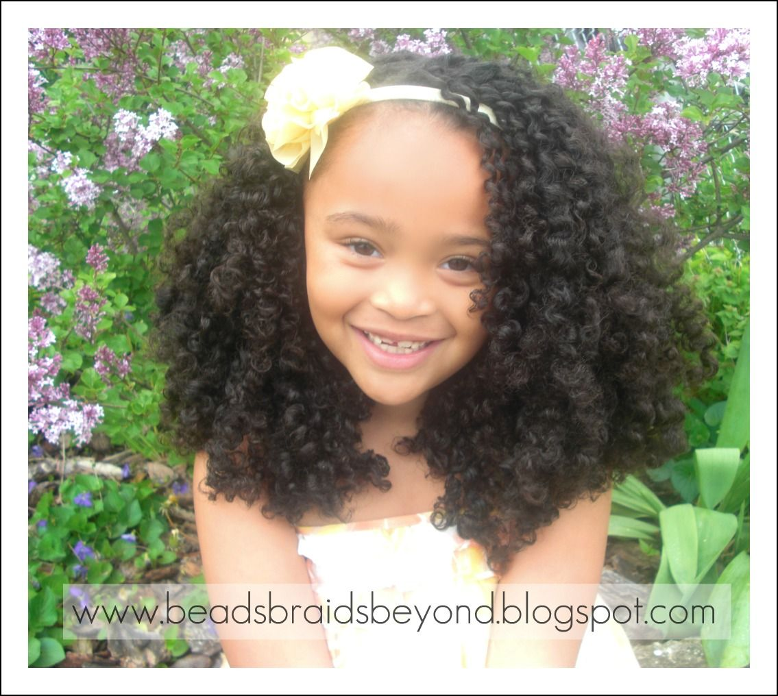 Toddler Curly Hairstyles Beads Braids And Beyond Hair Love Pinterest Girl Hairstyles