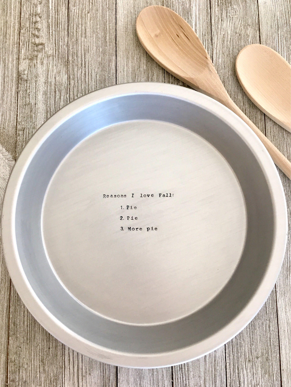 Custom 10\  Pie Plate by MacyAnneDesigns on Etsy //.etsy & Custom 10\