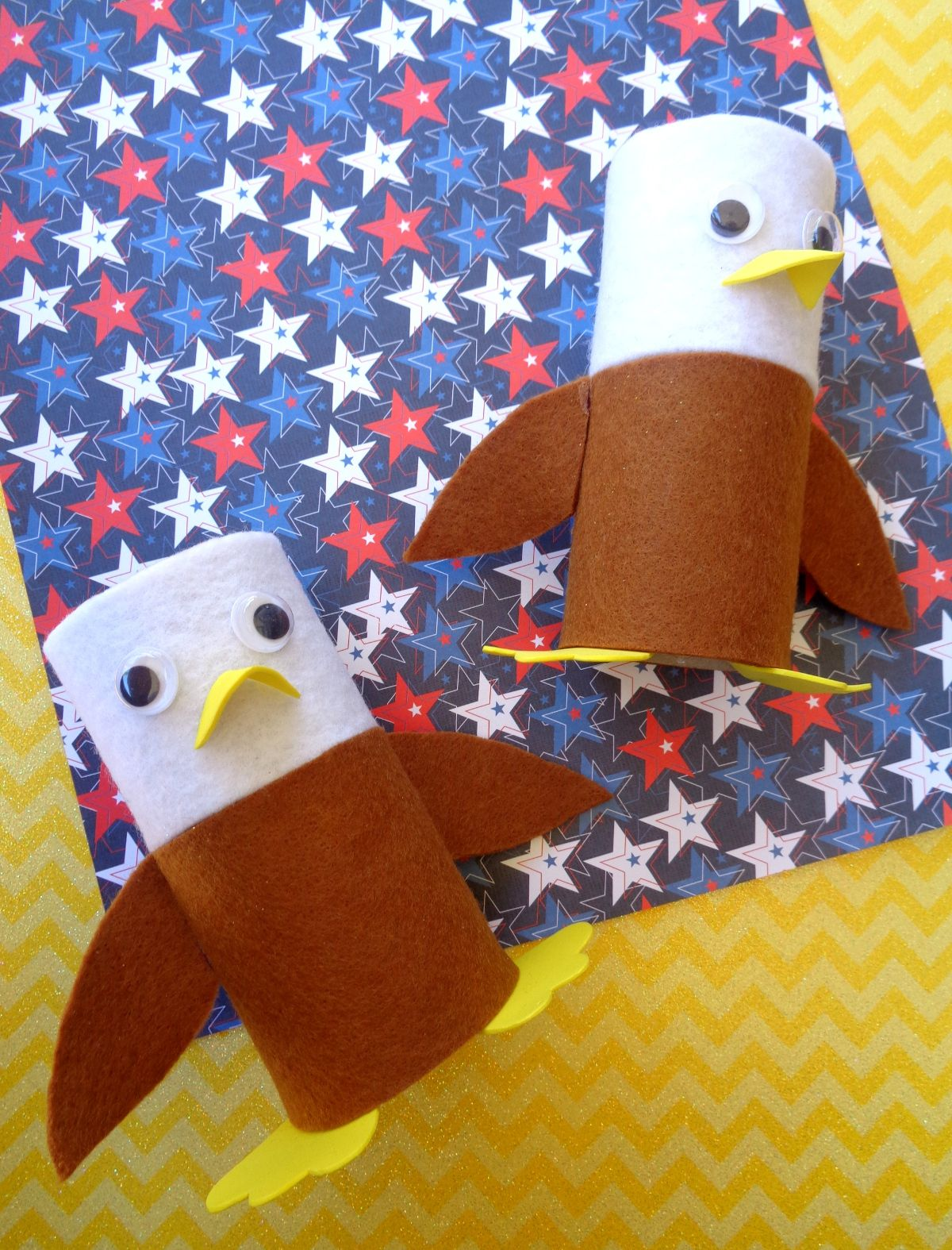 4th of July Eagle Craft for Kids Kreative in Life Preschool