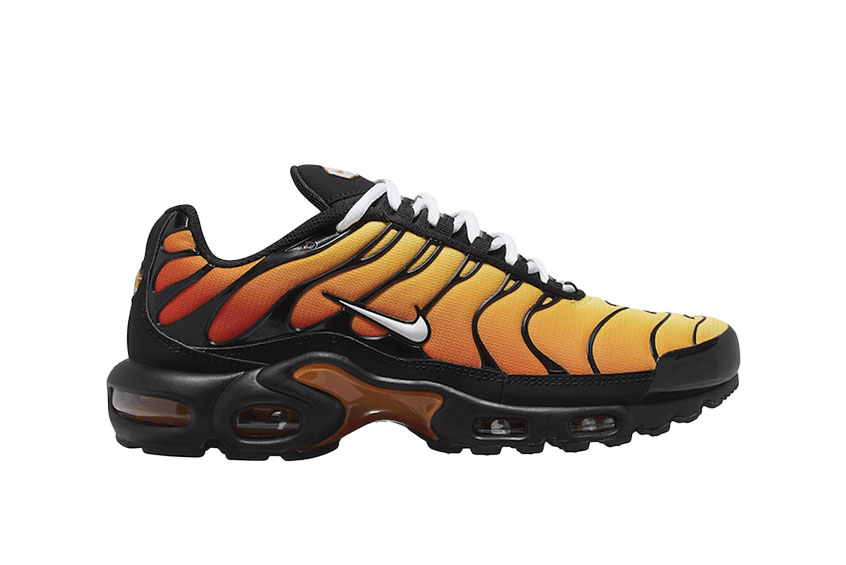 air max tn orange et noir