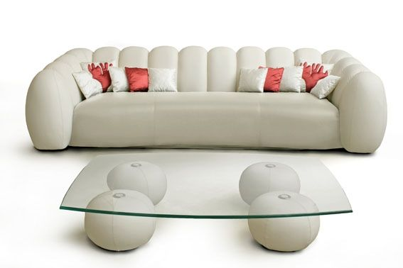 Stylish white sofa by Rossi di Albizzate   Furniture _ sofa _ chair ...