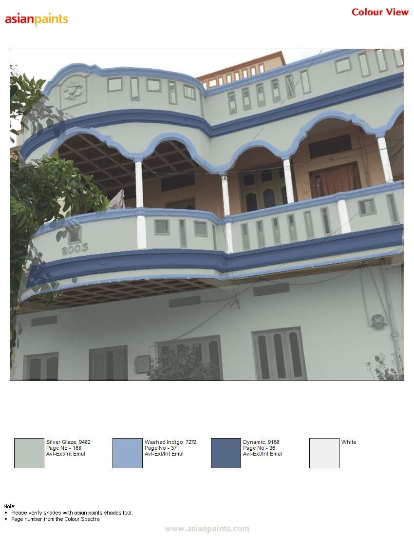 Pin By Manu 919441818532 On Top 200 Asian Paints Color Views Exterior Color Combinations House Gate Design Asian Paints Colours