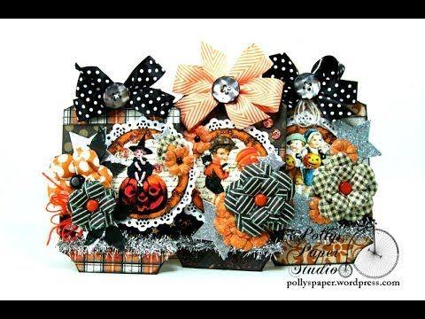 Vintage Halloween Tags Polly\u0027s Paper Studio Printable Process
