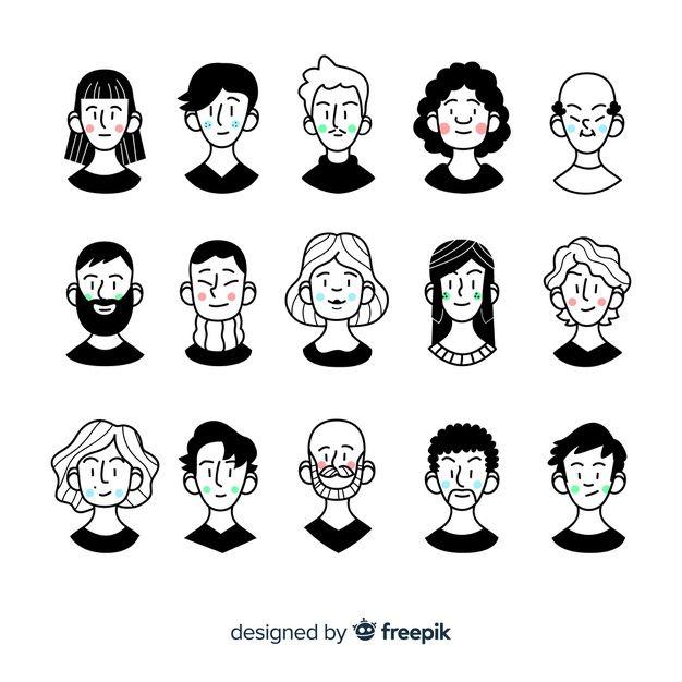Téléchargez Cartoon Avatar People Pack gratuitement