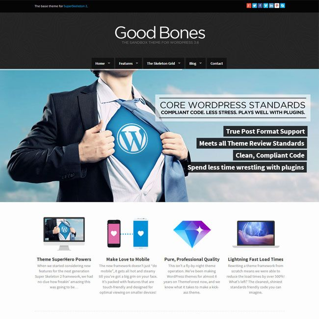 Good Bones The SandBox WordPress Theme | Best WordPress Themes ...
