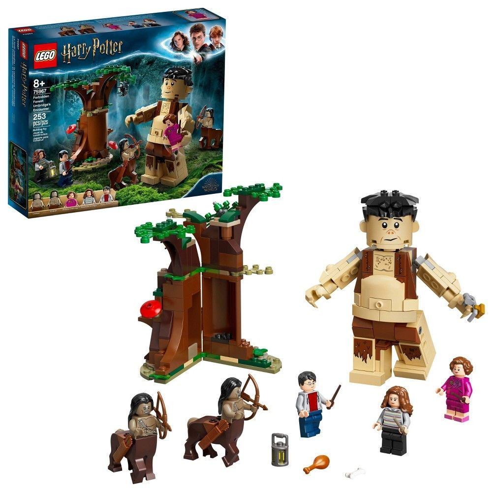 Lego Harry Potter Forbidden Forest Umbridge S Encounter With Minifigures 75967 In 2021 Lego Harry Potter Harry Potter Toys Harry Potter Lego Sets