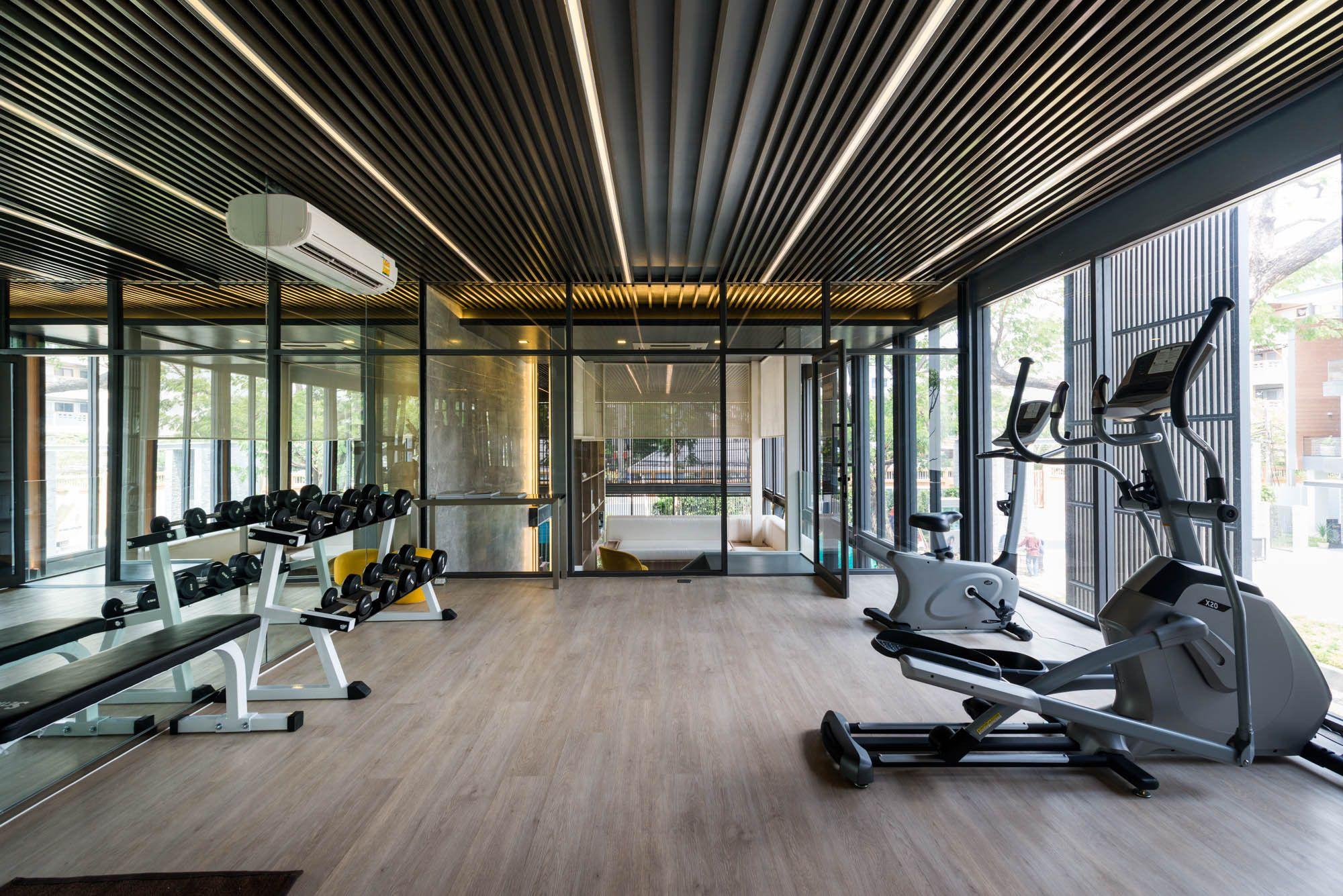 Gallery Of The Honor Clubhouse Podesign 5 Home Gym Design Gym Design Gym Interior