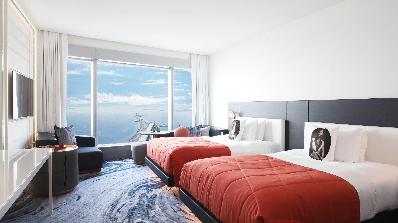 W Barcelona Hotel Room With Amazing City View Habitacion Hotel W Barcelona