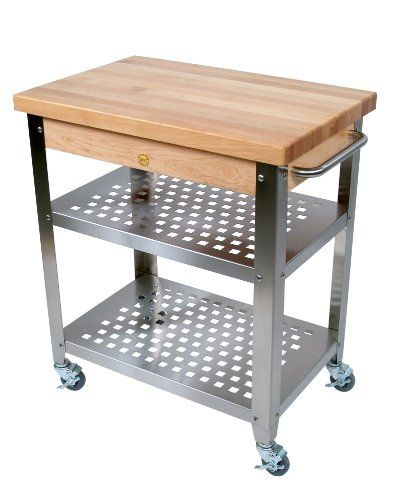 Danver Commercial Mobile Kitchen Carts: Stainless Steel Kitchen Cart With Drawers