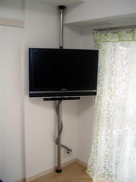 テレビを壁掛けにする できるだけtriathlete テレビ台 手作り 壁掛け 壁掛けテレビ