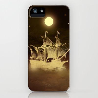 Viaje nocturno. iPhone & iPod Case by Viviana Gonzalez - $35.00