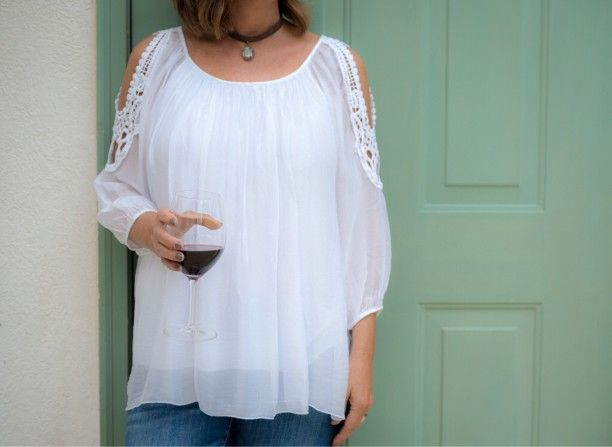 Italian Silk Tops Less Than $100!!! Yes!!! ❤👍❤ - Exclusively available at Penny's Closet!