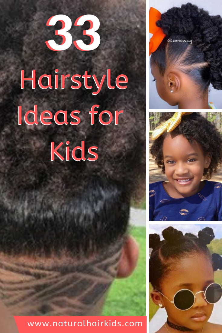 33 Cute Natural Hairstyles For Kids Natural Hairstyles For Kids