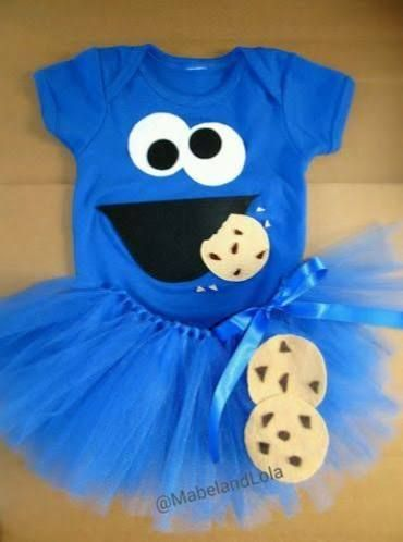 elmo and cookie monster costumes girl & elmo and cookie monster costumes girl | Halloween | Pinterest ...