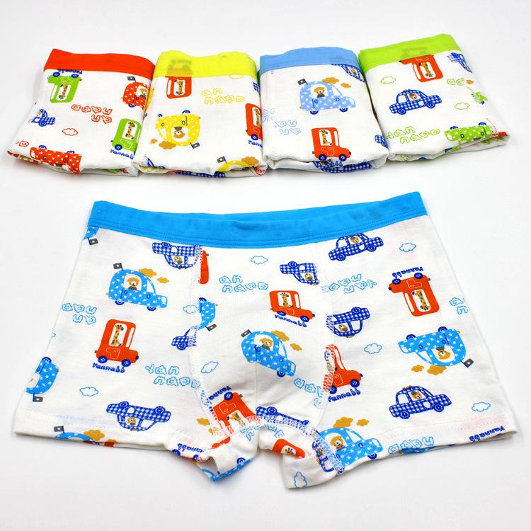 Children Kids Boys Boxer Shorts Underpants Casual Panties Underwear Knickers