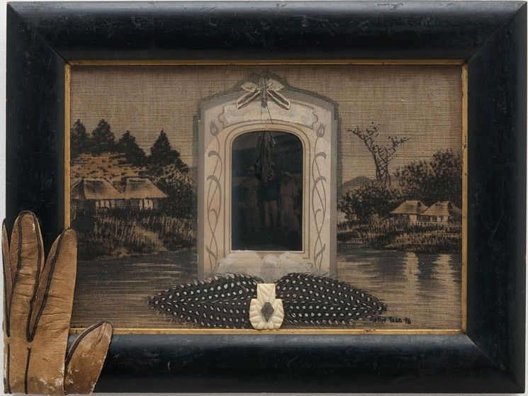 Image result for Joan Hall assemblage