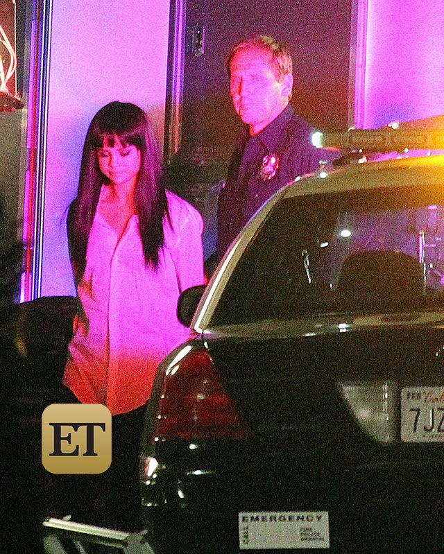 EXCLUSIVE: Behind the Scenes of Selena Gomez's New Music Video -- She Strips Down and Gets Arrested! :'(