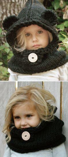 snood à capuche pour enfant …   tricot bébé   Pinterest   Pour ... d7d52721864