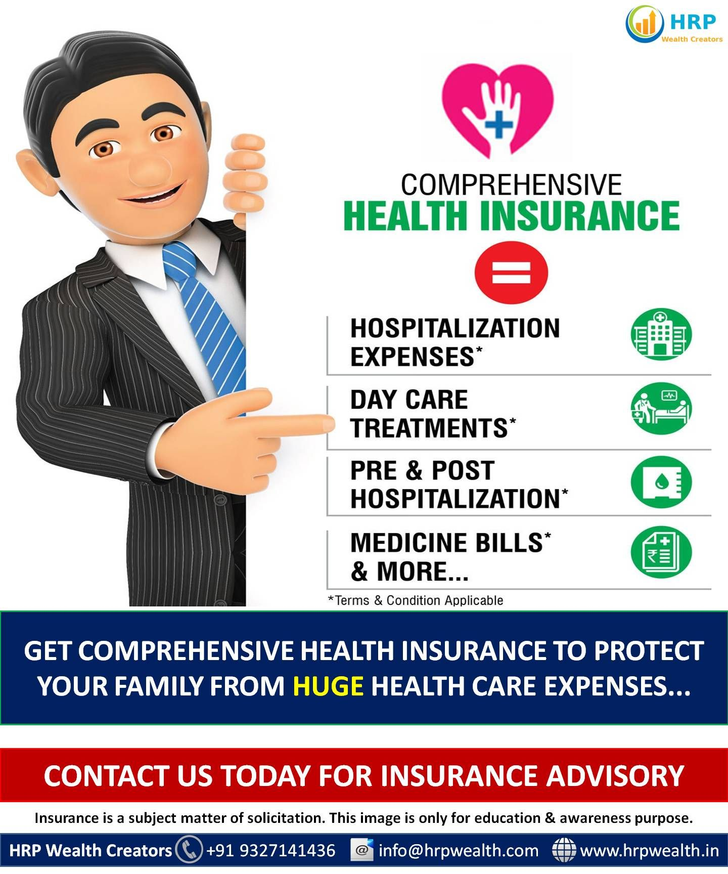 Secure your family against medical emergency situations