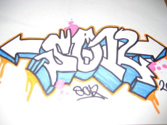 Graffiti Word Cool How To Draw Graffiti Art For Cindi Graffiti