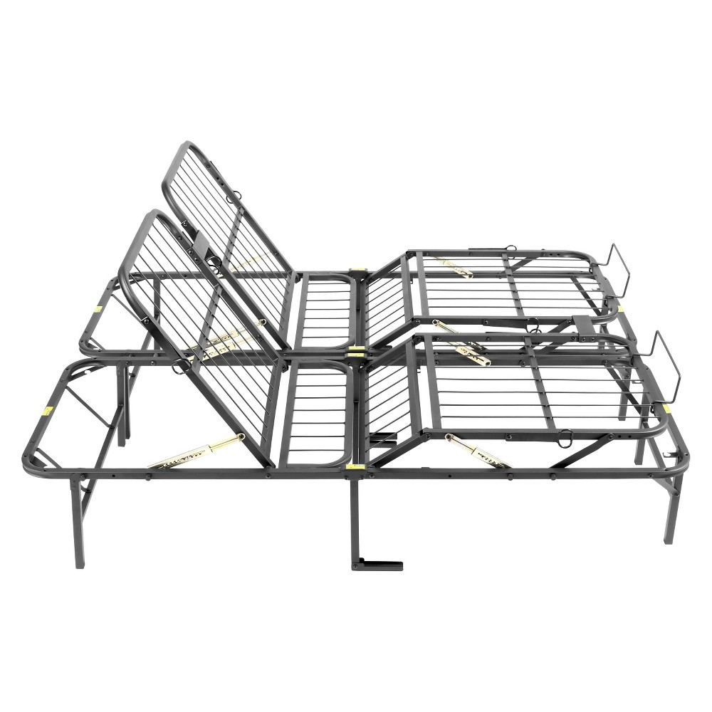 Simple Adjust Head And Foot Bed Frame Full Adjustable Beds