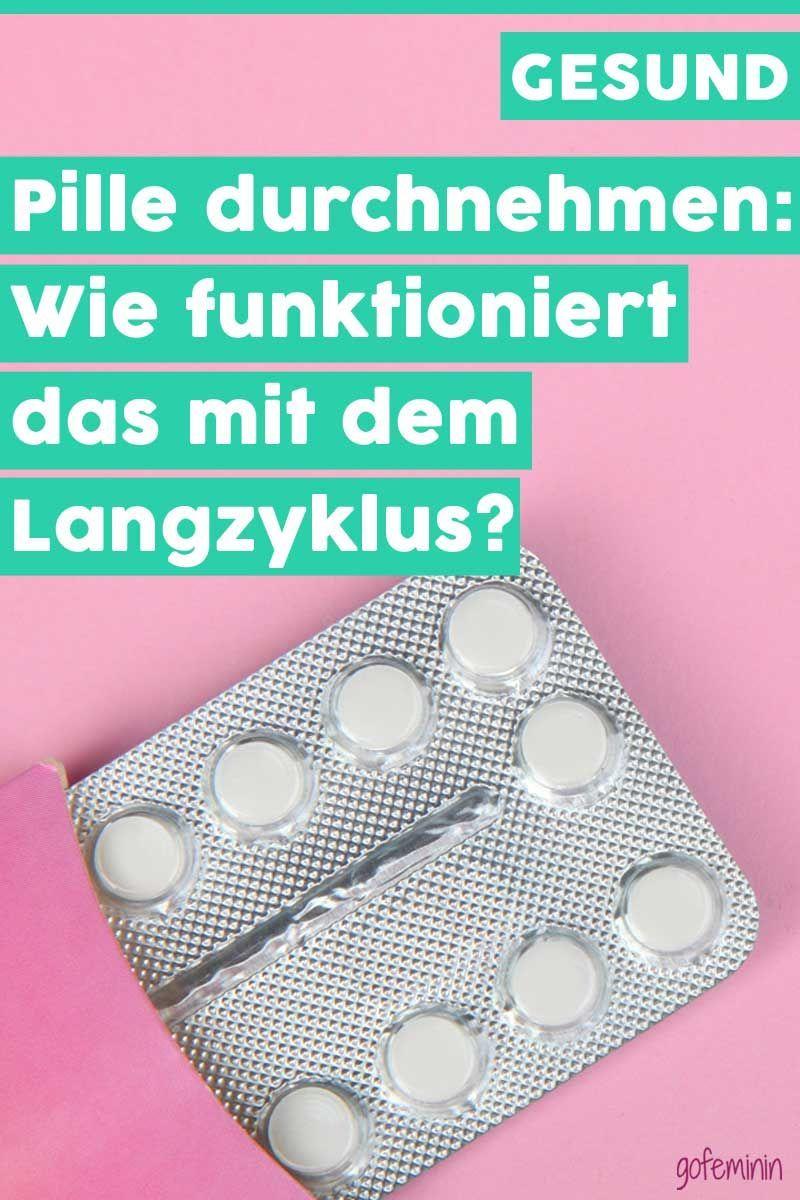 Pille ohne pause durchnehmen