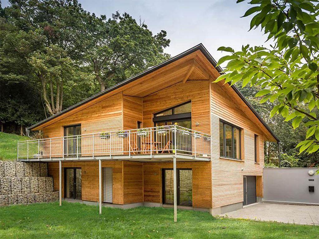 Pultdachhaus - Haus England - Gruber Holzhaus • Jetzt bei Musterhaus ...