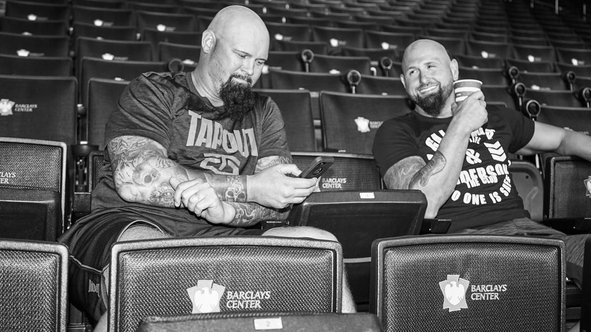50+ behind-the-scenes photos from SummerSlam 2017 | Scene ...