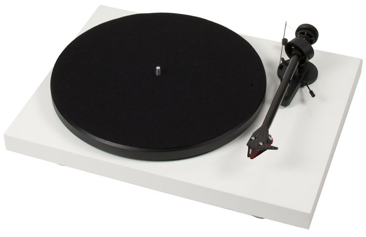 Pro Ject Debut Carbon Dc White Turntable Dcarbondcwht Turntable Record Player Record Players