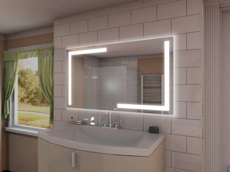 Origineller Badezimmerspiegel mit Licht » Individuelle Ausstattung - spiegel badezimmer mit beleuchtung