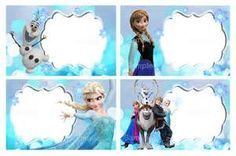 picture about Free Printable Frozen Food Labels called Disney Frozen Editable Label Large Faculty Disney frozen
