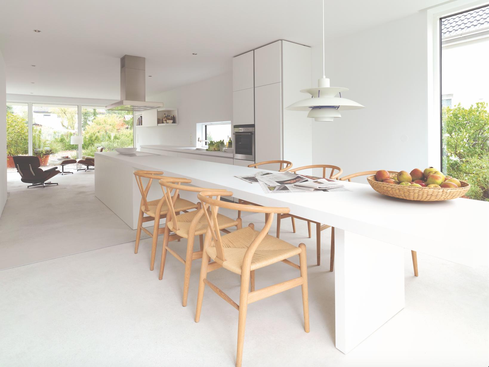 Meuble Ilot Central Table ~ Bulthaup B1 Keuken Het Werkblad Van Het Bulthaup B1 Keukeneiland