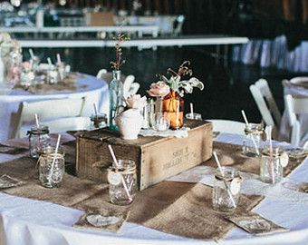 X Burlap Table Overlay Square Rustic Wedding Shabby Chic Holiday Decoration Thanksgiving