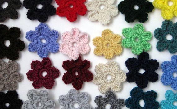 Easy Peasy Crochet Flower Pattern Simple 6 Petal Flower Pdf