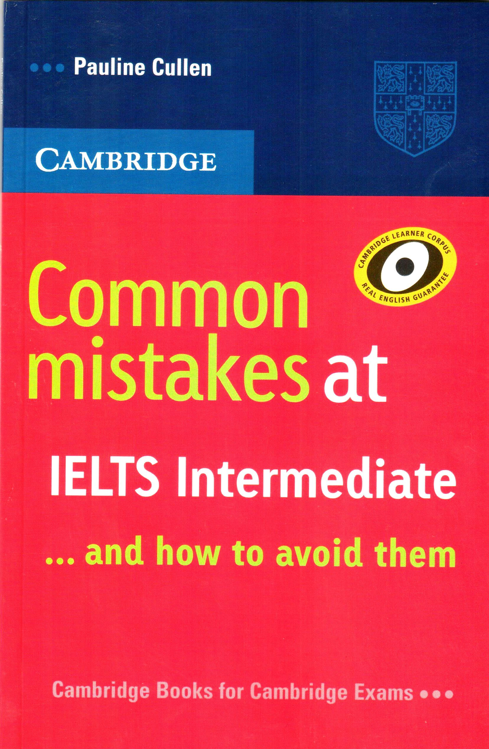 cambridge common mistakes at ielts intermediate pdf