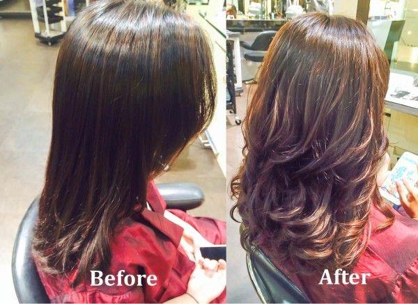 Difference Between Volume Rebonding Soft Rebonding Japanese Aqua Straightening S Curve Rebonding And C Curve Rebon Long Length Hair Hair Styles Stylish Hair